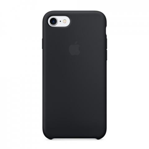 Чехол iPhone 8/7 - Silicone Case - Black (MQGK2)