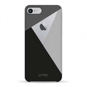 Чехол Pump Transperency Case for iPhone 8/7 Black/Gray