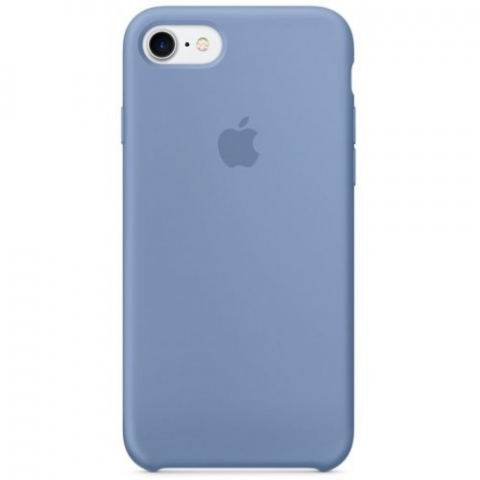 Чехол Apple Silicone Case iPhone 8/7 Sky Blue copi(A)