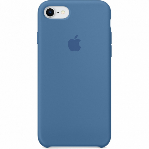 Чехол Apple Silicone Case iPhone 8/7 Ocean Blue copi(A)