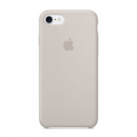 Чехол Apple Silicone Case iPhone 8/7 Pebble copi(A)