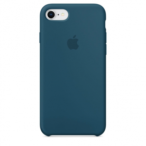 Чехол Apple Silicone Case iPhone 8/7 Cosmos Blue copi(A)