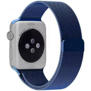Ремешок Apple watch Milanese Loop Metal 42mm Blue copy(A)