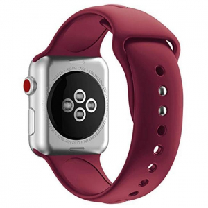 Ремешок Apple watch Sport Band 38mm Rose Red copy(A)