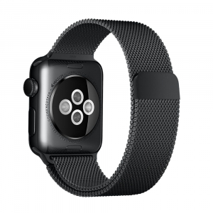Ремешок Apple watch Milanese Loop Metal 42mm Black copy(A)