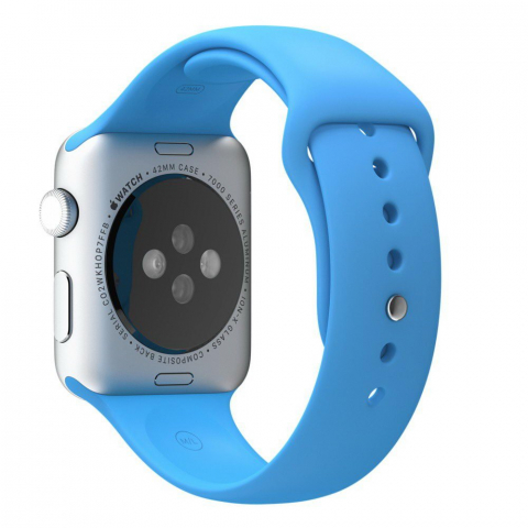 Ремешок Coteetci W3 голубой для Apple Watch 42mm