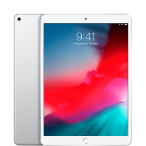 Apple iPad Air Wi-Fi + LTE 256GB Silver 2019 (MV1F2, MV0P2)