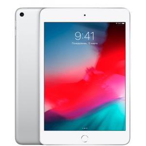 Apple iPad mini 5 Wi-Fi + LTE 256GB Silver 2019 (MUXN2, MUXD2)