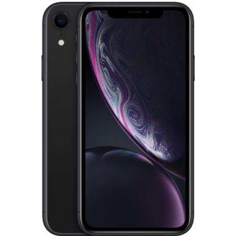 Смартфон Apple iPhone XR Dual Sim 256GB Black (MT1H2)