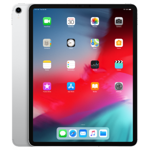 Apple iPad Pro 12.9 (2018) Wi-Fi + Cellular 512GB Silver (MTJJ2, MTJN2)