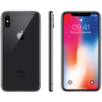 Смартфон Apple iPhone X 256GB Space Gray (MQAF2)